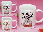 Music Color Changing - Valentine Mug